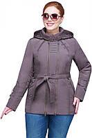 Стильная куртка с двумя молниями
