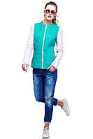 Модная женская куртка хорошо садится по фигуре, фото 1