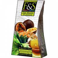 Зелёный цейлонский чай «Ананас и маракуйя» из коллекции «Flavour Symphony», 100 г
