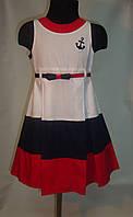 Нарядное платье для девочки 4-10 лет