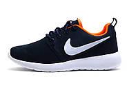 Кроссовки унисекс Nike Rosherun, синие с белым, р. 40, фото 1