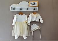 Комплект на выписку 100% хлопок для новородженной девочки рр 56, 62