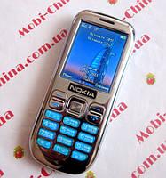 Копия Nokia Asha101 dual sim silver, фото 1