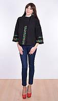 Классический черный цвет  кашемирового женского пальто, фото 1