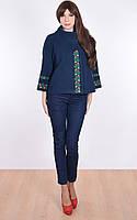 Вышитое пальто « Цветочная сетка »  , фото 1