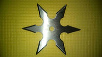 Сюрикен - звездочка, двусторонняя ( нож - для метания ).