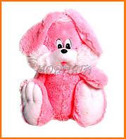 Плюшевый кролик игрушка | Сидячий зайчик 55см