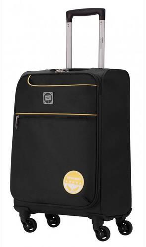 Черный маленький дорожный чемодан 33 л. HAUPTSTADTKOFFER mitte lite mini black
