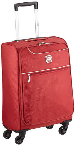 Яркий тканевый дорожный чемодан 33 л. HAUPTSTADTKOFFER mitte lite mini red