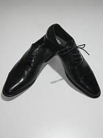 Туфли мужские классические на шнурках Razil D-5010 демисезон размеры 39,42,44