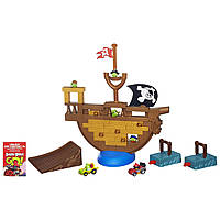 Angry Birds Go! Атака пиратского корабля