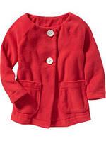 Красивое флисовое пальто для девочек Олд Неви, 4T
