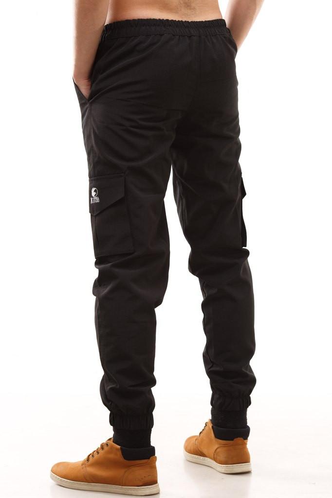 Черные брюки зауженные доставка
