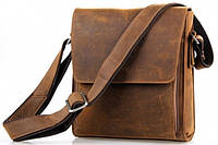 Модная мужская наплечная кожаная сумка 7055B