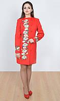 Яркое и соблазнительное красное пальто , фото 1