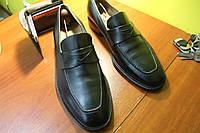Мужские кожаные туфли лоферы Regent, 28 см, 43 размер.