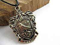 Герб Значок Рейвенкло  из Гарри Поттера Кулон на цепочке (Слизерин, Гриффиндор, Когтевран)
