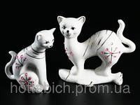 "Статуэтка из фарфора ""Кошка и кот"""