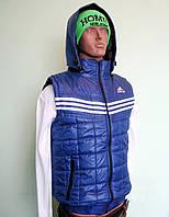 Мужской жилет безрукавка  Adidas р 54-56