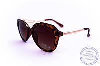 Стильные женские солнцезащитные очки Prada - Леопардовые - 212
