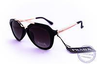 Стильные солнцезащитные очки Prada - Черные - 212