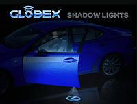 Проектор автомобильной эмблемы в двери Globex Shadow Light Mitsubishi