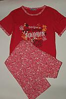 Пижама для девочек  Польша розовая (128-158)