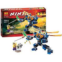 """Конструктор Bela Ninja (аналог Lego Ninjago) 10317 """"Летающий робот Джея"""", 154 дет"""