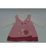 Платье на девочку 0-1 год