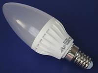 Лампа светодиодная EXTRA 6W 430lm E14 СВЕЧА нейтральный свет