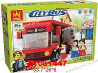 Конструктор WANGE Городской автобус