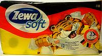 Zewa Soft туалетная бумага 8 рулонов 3 х слойная Германия