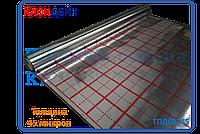 Фольга для теплого пола с разметкой рулон 50 кв/м (45микрон)