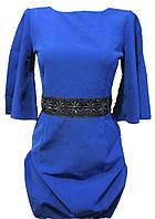 Женское платье синее, фото 1