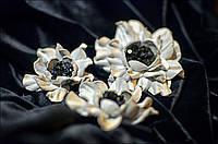 Комплект цветок-брошь