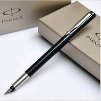 Ручки Паркер черные пластиковые чернильные Parker