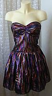 Платье женское нарядное вечернее клубное яркое бренд Miss Selfridge р.50 5424