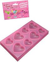 Формочки для льда Tonga - Heart Shaped Ice Cube Tray (T160332 )