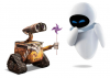Комплект мини игрушек робот Валли и Ева из мультфильма