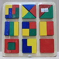 Детская деревянная развивающая игра Логика