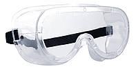 Очки закрытого типа прозрачные с прямой вентиляцией MONOLUX