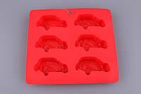 Форма для выпечки кексов, приготовления конфет, шоколада Машинки 220Х200Х30 мм 710-181