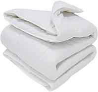 Тёплое одеяло 150х200 наполнитель шерсть и флексфайбер FAMILY COMFORT