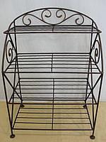 Этажерка для обуви с коваными элементами -  010-470