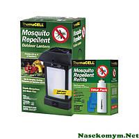 От комаров Thermacell набор(фонарь+расходники, 15 пластин)