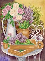"""Рисунок на ткани для вышивания бисером """"Прованс"""""""