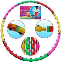 Массажный обруч Хула-Хуп Massage Hoop колёсики с шипами