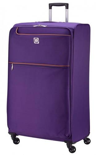 Супер большой тканевый чемодан 130 л. HAUPTSTADTKOFFER mitte lite gigant lila лиловый