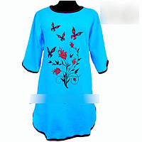 Женская тёплая ночная рубашка с 46по 60 размер