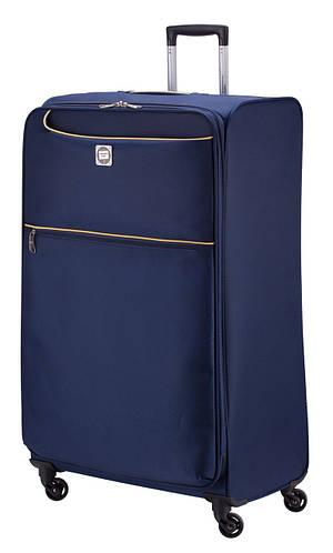 Тканевый чемодан-гигант дорожный 130 л. HAUPTSTADTKOFFER mitte lite gigant blue синий